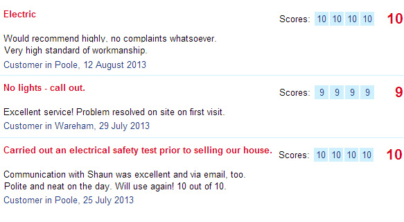 feedback from checkatrade